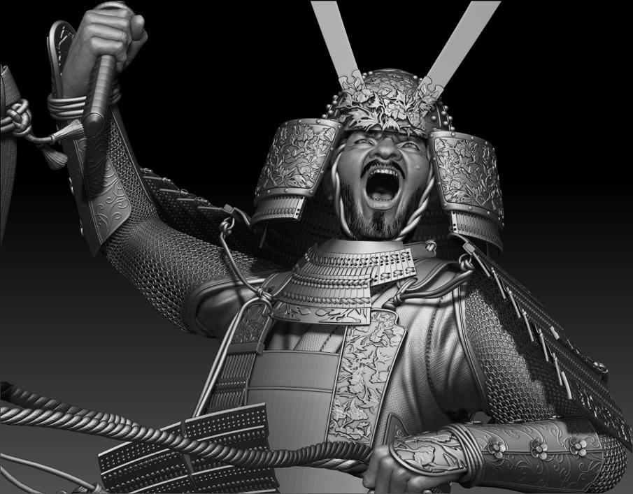 samurai rie ito 3d artist portfolio