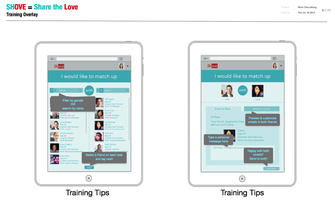 wireframes ipad app passion forward - Ipad App Wireframe