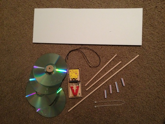 easy mousetrap car instructions